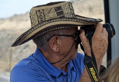 Photographer, Cameraman, Professional, Man, Photography