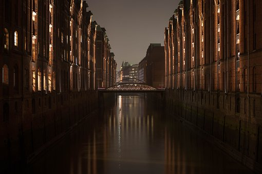 Harbour City, Hamburg, Elbe, Port