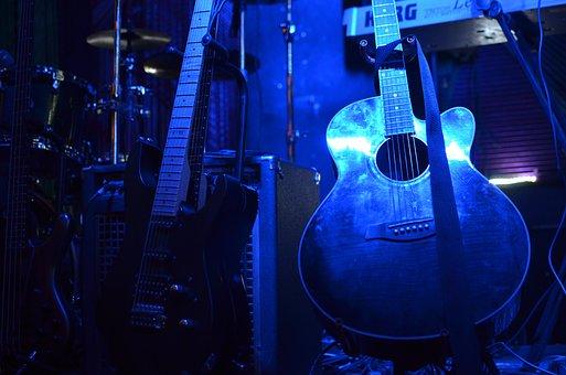 Guitar, Rock, Music, Concert, Sound, Instrument