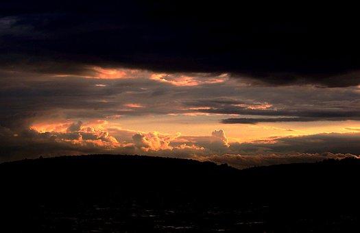 Sun Set, Sunset, Summer, Set, Sun, Sunlight, Light