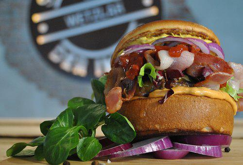 Cheeseburger, Hamburger, Bacon, Cheese, Fast Food, Food