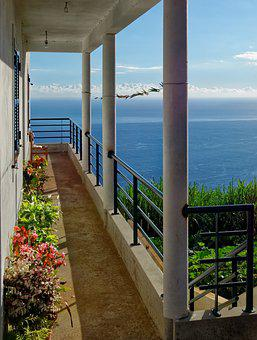 Lookout Point, Balcony, Space On The Sun, Sea