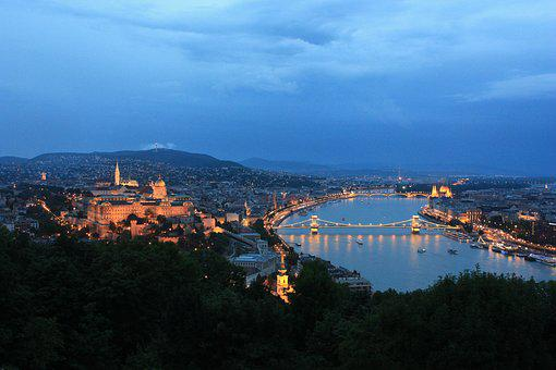 Budapest, Hungary, Architecture, River, Castle