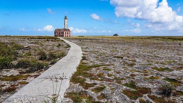 Curaçao, Curacao, Caribbean, Landscape, Beach
