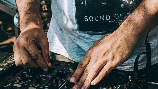 Djs, El, Mixer, Music, Sound, Party, Dance