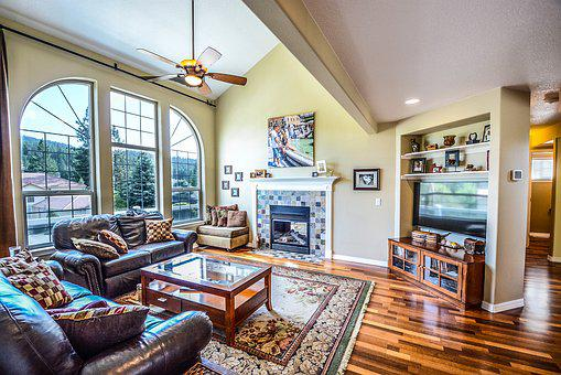Home, Living, House, Windows, View, Family Room, Room