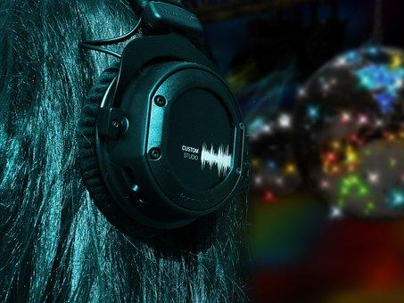 Music, Sound, Audio, Recording, Beschallung, Headphones