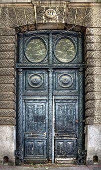 Door, Dirty, Old, Abandoned, Lille