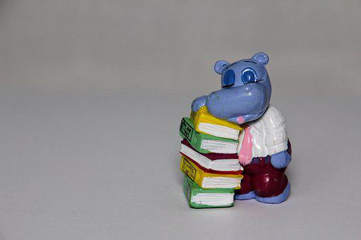 Books, Stack, Exhausted, überraschungseifiguren