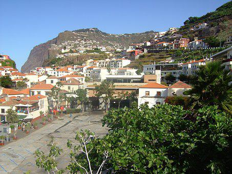 City, Funchal, Madeira, Portugal, Island, Resort