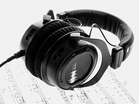Music, Hifi, Headphones, Sound, Audio, Dj, Studio
