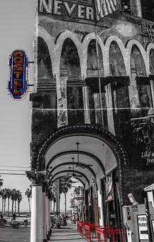 Hotel, Graffiti, Venice, City, Tourism, Visiting
