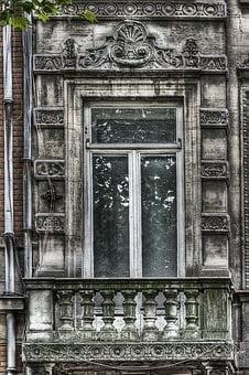 Window, Dirty, Old, Abandoned, Lille