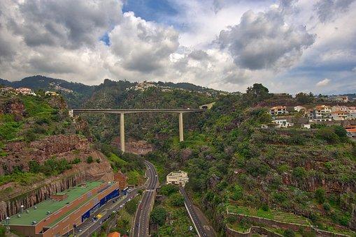 Landscape, Madeira, Sky, Skyscape, Vilage, Portugal