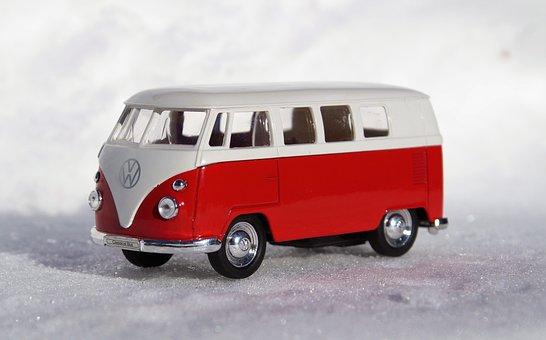 Model Car, Auto, Vehicles, Vw, Bulli, T1, Transport