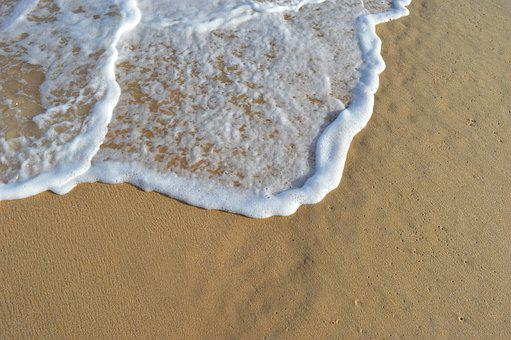 Beach, Sand, Beira Mar, Water, Brazil, Litoral