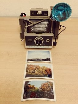 Camera, Polaroid, Analog, Photo, Retro, Old, Image