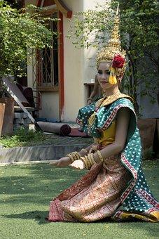 Thai Traditional Dance, Dancing, Thai Culture, Thailand