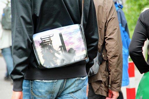 Bag, Shoulder Bag, Image, Authority, Dortmund