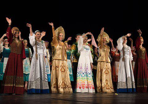 Russian, Folklor, Berezka, Concert, National, Ethnic