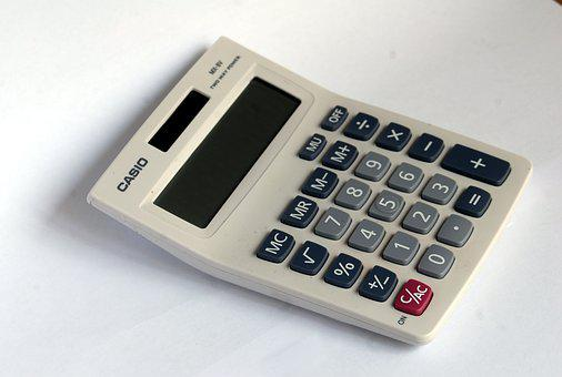 Numbers, Calculator, Buttons, White, Mathematics