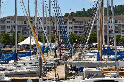 Harbor, Boats, Port, Fishing, Nautical, Pier, Water