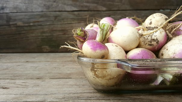Turnip, Wood, Vegetable, Rustic