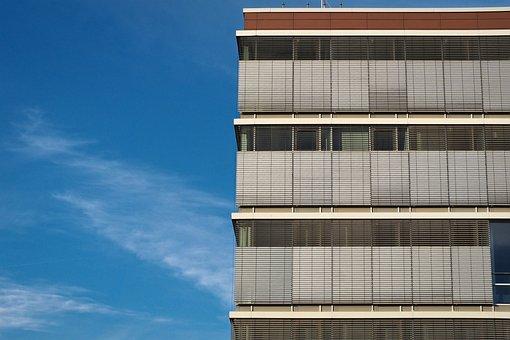 Architecture, Facade, Building, Modern, Balcony, Sky