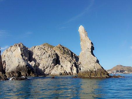 Mexico, Los Cabos, Pacific Ocean, Rocks, Cabo San Lucas