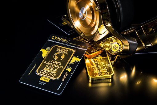 Gold, Money, Business, Cash, Finance, Currency