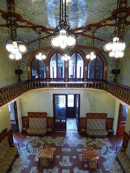 Modernism, Modernist, Living Room, Paneling, Decoration