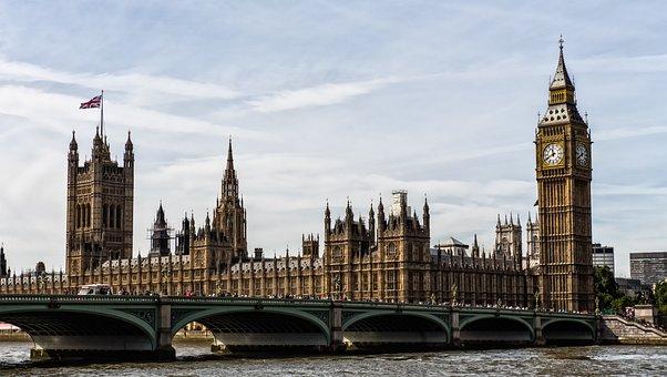London, Big Ben, United Kingdom, Places Of Interest