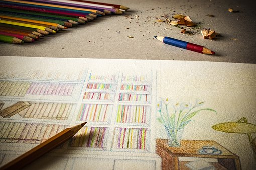Drawing, Pencil, Color, Paper, Sketch, Design, Art