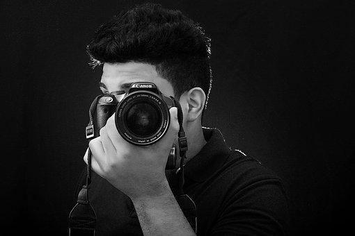 Camera, Canon, Photographer, Reflex, Pentax, Photo