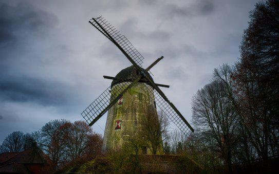 Windmill, Lost Places, Lapsed, Old, Run Down