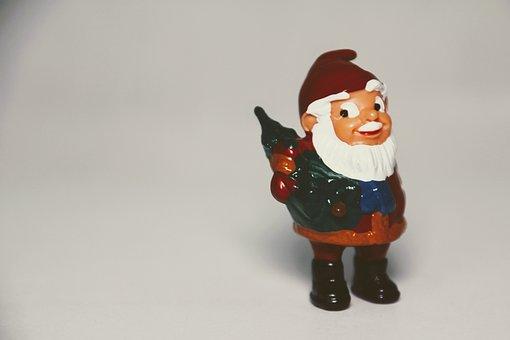 überraschungseifigur, Dwarf, Garden Gnome