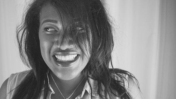 Black Girl, Smile, Laugh, Happy, Black, Girl, Female
