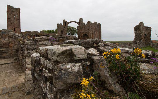 Lindisfarne, Lindisfarne Priory, Priory, Island, Holy