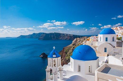 Church, Santorini, D, Greece, Island, Greek