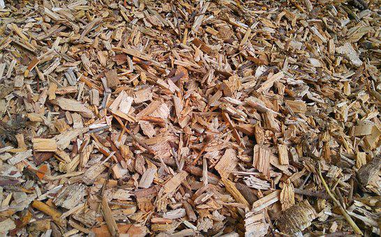 Wood Chips, Heat, Wood, Natural Product, Storage