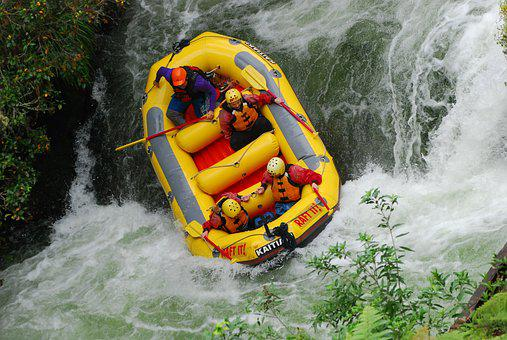 Rafting, River, Adventure, Raft, Extreme, Paddle