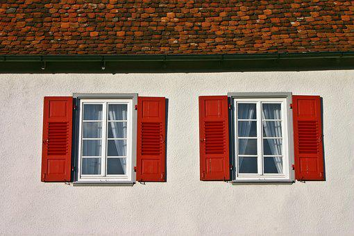 Window, Home, Building, Historically, Roof, Tile, Red