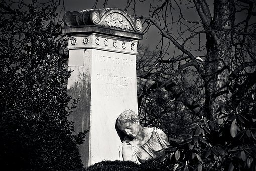 Cemetery, Grave, Tombstone, Burial Ground, Graves
