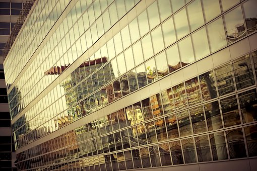 Architecture, Glass, Building, Modern, Facade, Window