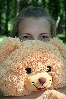 Toy, Bear, Childhood, Girl, Teddy Bear