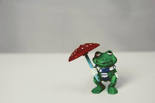 Weatherman, Screen, Green, Isolated, Frog, Green Frog