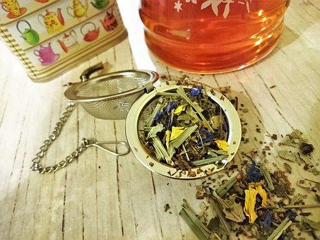 Herbal Tea, Tee, Teeei, Tea Caddy, Teefilter, Herbs