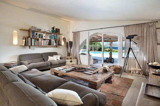 Living Room, Loft, Sardinia, Relaxation, Summer