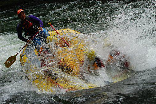 Raft, Rafting, White, Water, Adventure, Outdoor, River