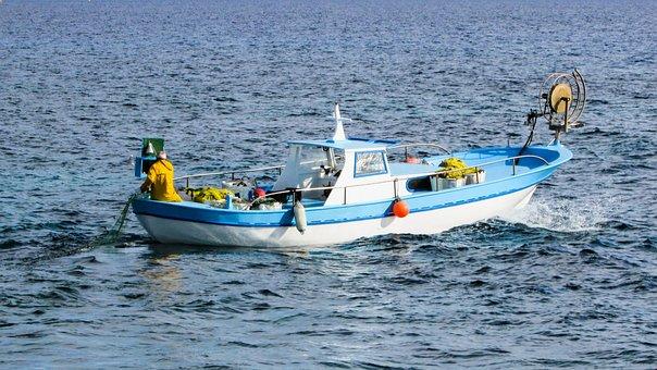 Fishing, Fishing Boat, Boat, Sea, Traditional